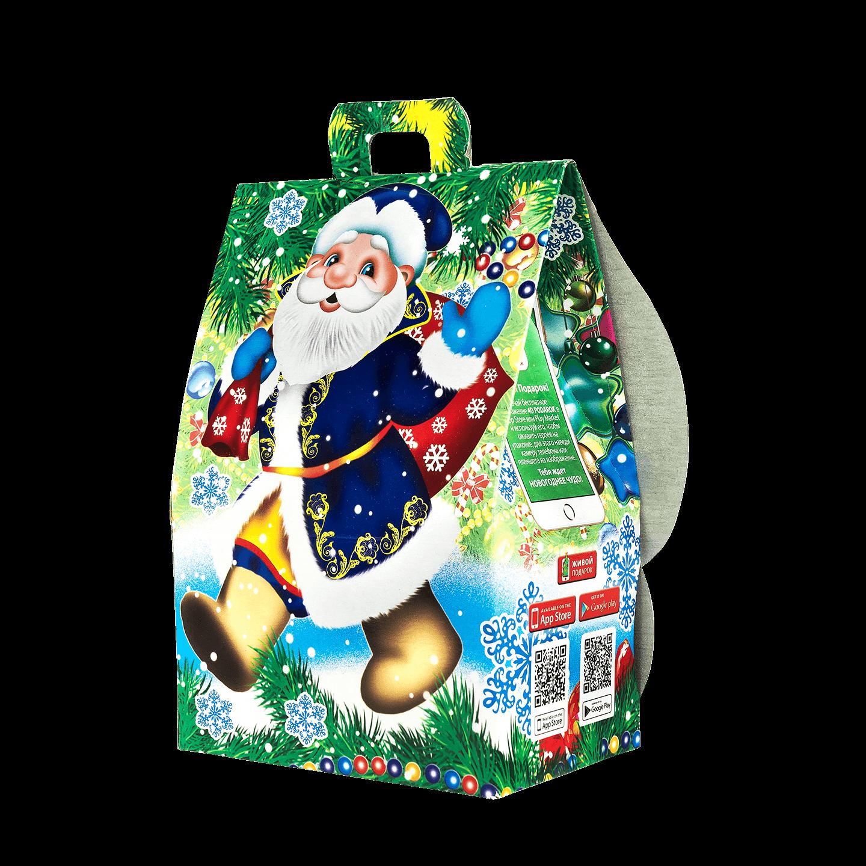 Новогодний подарок Бейб стоимостью 200 руб. и весом 450 гр.