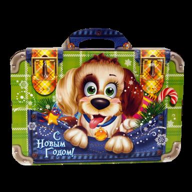Новогодний подарок Портфель отличника стоимостью 600 руб. и весом 1200 гр.