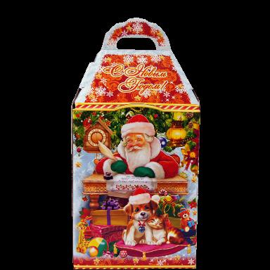 Новогодний подарок Офис Деда Мороза стоимостью 350 руб. и весом 750 гр.
