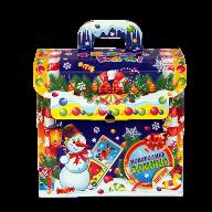 Новогодний подарок Домино стоимостью 450 руб. и весом 900 гр.