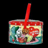 Новогодний подарок Рома и Джулия стоимостью 400 руб. и весом 500 гр.