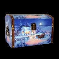 Новогодний подарок Праздничный бал стоимостью 2500 руб. и весом 1500 гр.