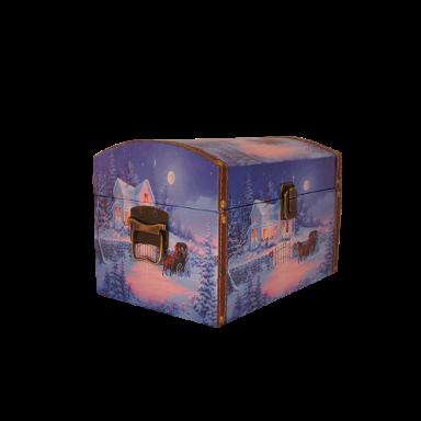 Новогодний подарок Новогодняя ночь стоимостью 2500 руб. и весом 1500 гр.