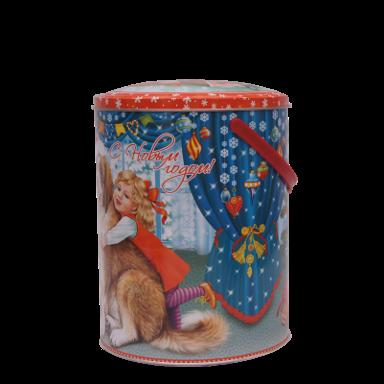 Новогодний подарок Любимчик стоимостью 800 руб. и весом 1000 гр.
