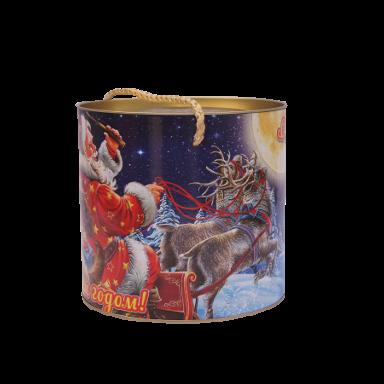 Новогодний подарок Сладкая затея стоимостью 700 руб. и весом 1000 гр.