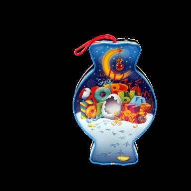 Новогодний подарок Сюрприз стоимостью 650 руб. и весом 800 гр.