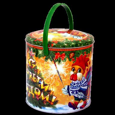 Новогодний подарок Озорники стоимостью 600 руб. и весом 750 гр.