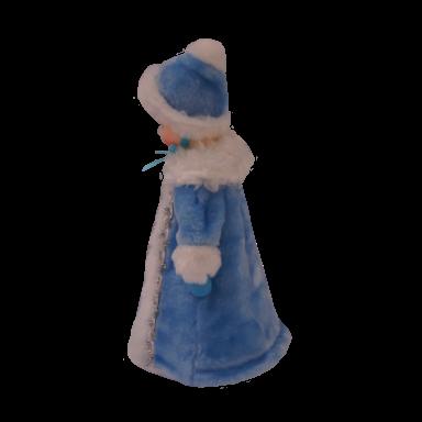 Новогодний подарок Снегурочка стоимостью 1200 руб. и весом 1000 гр.
