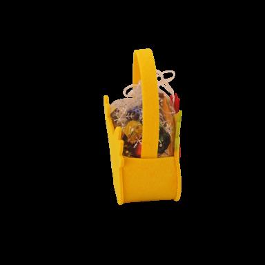 Новогодний подарок Сумочка цыпленок стоимостью 250 руб. и весом 300 гр.