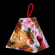 Новогодний подарок Часы стоимостью 350 руб. и весом 500 гр.