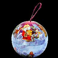 Новогодний подарок Новогодний шар. стоимостью 350 руб. и весом  гр.