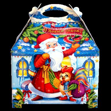 Новогодний подарок Ларец стоимостью 350 руб. и весом 750 гр.