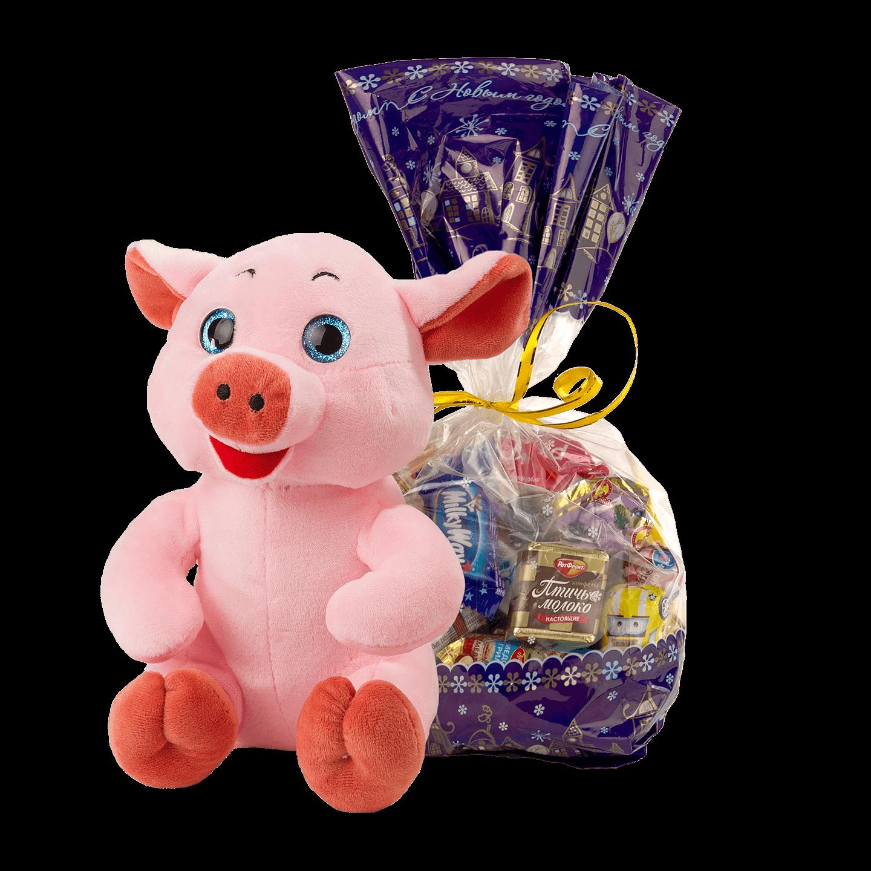 Новогодний подарок Фаня стоимостью 500 руб. и весом 500 гр.