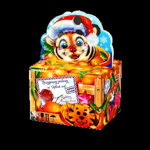 Новогодний подарок Мандаринка стоимостью 930 руб. и весом 900 гр.