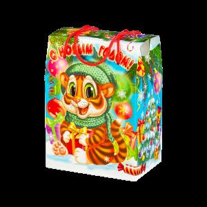 Новогодний подарок Царапки стоимостью 390 руб. и весом 700 гр.