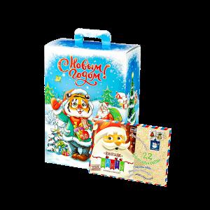 Новогодний подарок Лесной привет стоимостью 499 руб. и весом 1100 гр.
