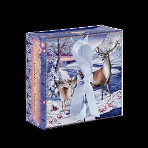 Новогодний подарок Северное сияние стоимостью 750 руб. и весом  гр.
