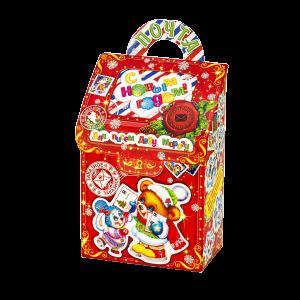 Новогодний подарок Волшебная почта стоимостью 400 руб. и весом 700 гр.
