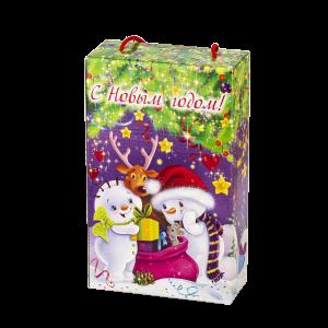 Новогодний подарок Сюрприз от Деда Мороза стоимостью 299 руб. и весом 800 гр.