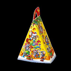 Новогодний подарок Сырок стоимостью 300 руб. и весом 550 гр.