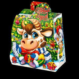 Новогодний подарок Карапуз стоимостью 300 руб. и весом 600 гр.