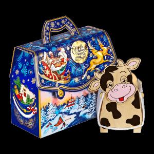Новогодний подарок Чародеи стоимостью 1000 руб. и весом 900 гр.