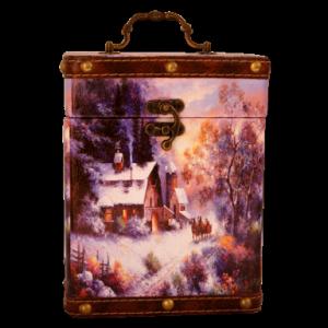 Новогодний подарок Две стихии стоимостью 1100 руб. и весом 700 гр.