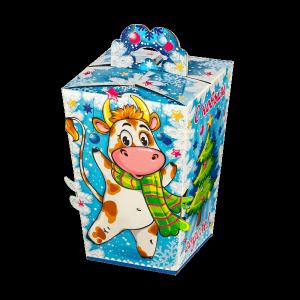 Новогодний подарок Пухляш стоимостью 140 руб. и весом 400 гр.