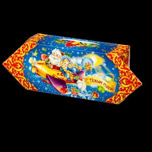 Новогодний подарок Конфета стоимостью 140 руб. и весом 400 гр.