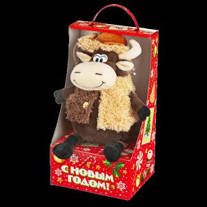 Новогодний подарок Степан стоимостью 1150 руб. и весом 600 гр.