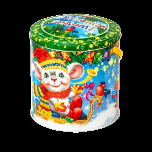 Новогодний подарок Мышкина радость стоимостью 700.00000 руб. и весом 1000 гр.