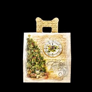 Новогодний подарок Новогодние часы стоимостью 600 руб. и весом 600 гр.