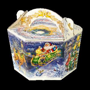 Новогодний подарок Новогодний презент стоимостью 850 руб. и весом 800 гр.