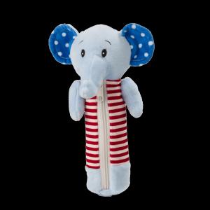 Новогодний подарок Пенал Слоненок стоимостью 260 руб. и весом 200 гр.