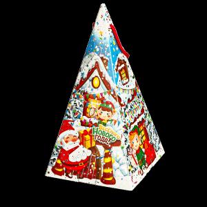 Новогодний подарок Пирамидка стоимостью 500 руб. и весом 500 гр.