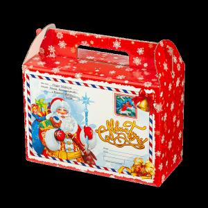 Новогодний подарок Волшебное письмо стоимостью 450 руб. и весом 900 гр.