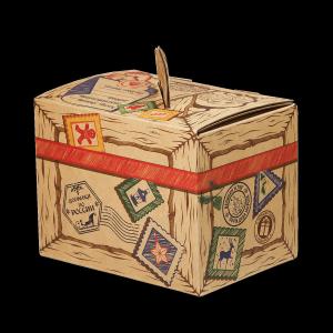 Новогодний подарок Сладкая бандероль стоимостью 450 руб. и весом  гр.