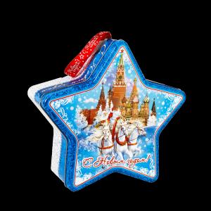 Новогодний подарок Президентский стоимостью 1400 руб. и весом 1100 гр.