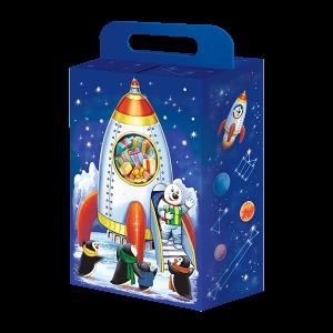 Новогодний подарок Звездная ракета стоимостью 300 руб. и весом 600 гр.