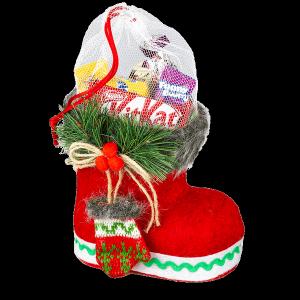 Новогодний подарок Сапожок стоимостью 440 руб. и весом 300 гр.