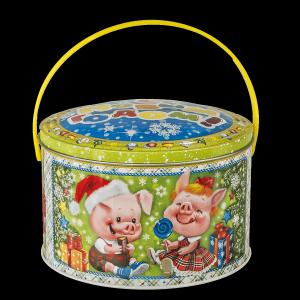 Новогодний подарок Сластены стоимостью 500 руб. и весом 500 гр.
