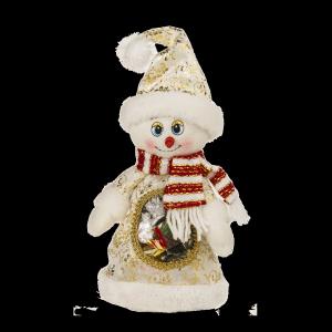 Новогодний подарок Снеговик стоимостью 850 руб. и весом 500 гр.