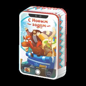 Новогодний подарок #ТриБогатыря стоимостью 450 руб. и весом 800 гр.