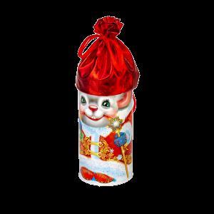 Новогодний подарок Туба Везунчик стоимостью 590 руб. и весом 700 гр.