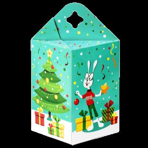 Новогодний подарок Веселый кролик стоимостью 300 руб. и весом 550 гр.