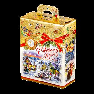 Новогодний подарок Подарок Праздничный стоимостью 250 руб. и весом 400 гр.