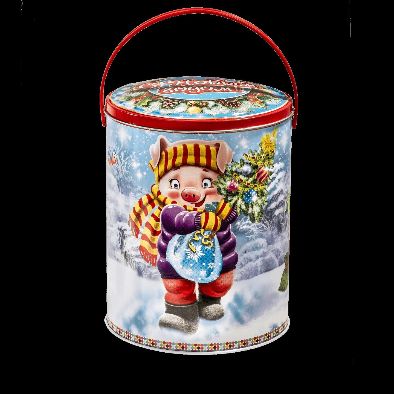 Новогодний подарок Мирон стоимостью 950 руб. и весом 1000 гр.