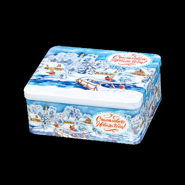 Новогодний подарок Морозные пейзажи стоимостью 650 руб. и весом 400 гр.