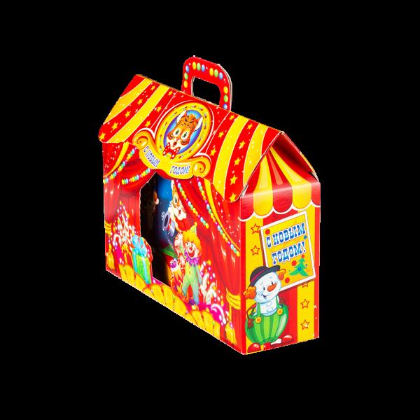 Новогодний подарок Тигриное шоу стоимостью 730 руб. и весом 700 гр.