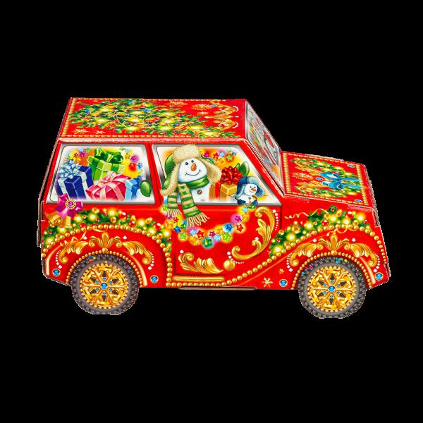 Новогодний подарок Снежная гонка стоимостью 750 руб. и весом 1000 гр.